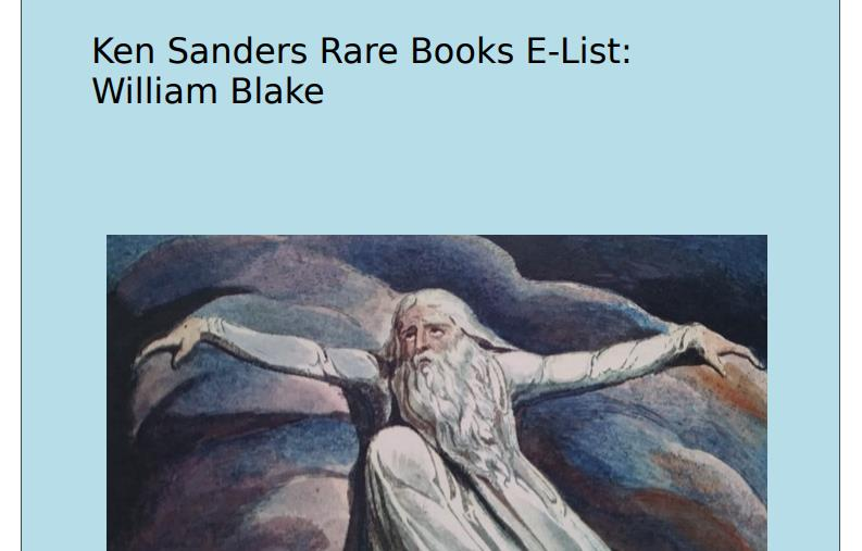 William Blake E-List
