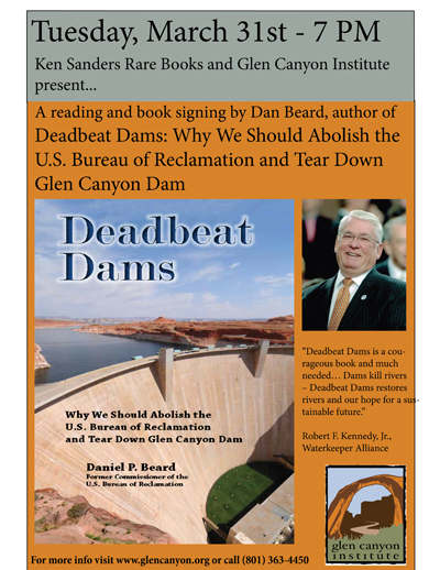 Deadbeat Dams: A Reading and Book Signing with Author Daniel Beard