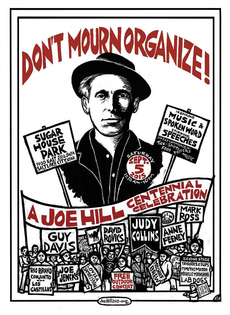Joe Hill Centennial Celebration (a free all-day concert)