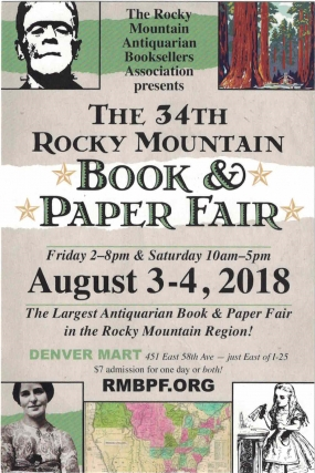 The 34th Rocky Mountain Book & Paper Fair