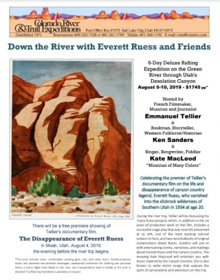 Down the River with Everett Reuss and Friends