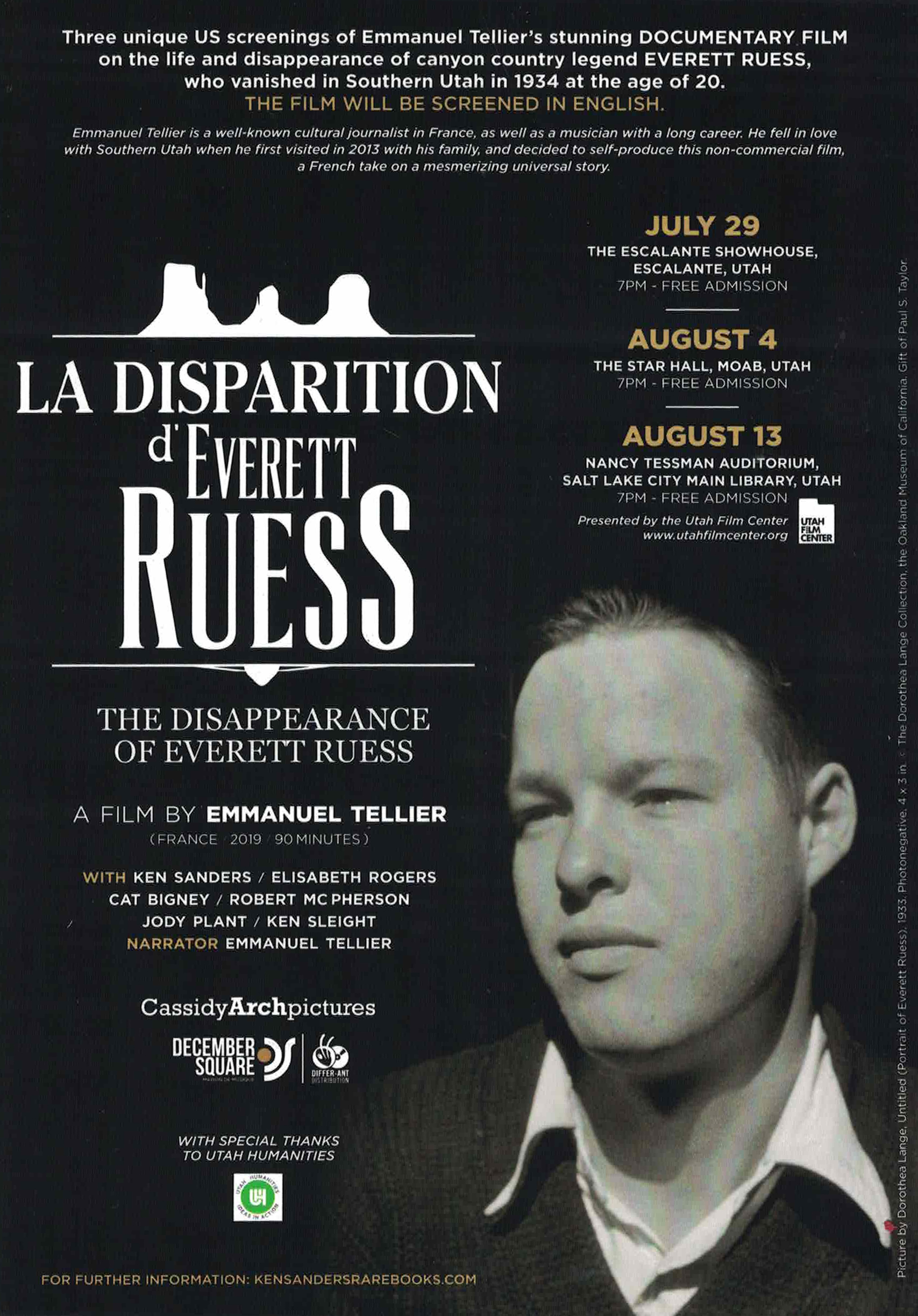 La Disparition d'Everett Ruess