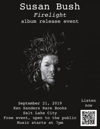 "Susan Bush ""Firelight"" Album Release"