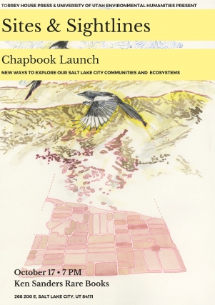 Sites & Sightlines Chapbook Launch