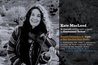 Kate MacLeod in Concert, with Emmanuel Tellier and Kat Eggleston