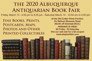 2020 Albuquerque Antiquarian Book Fair