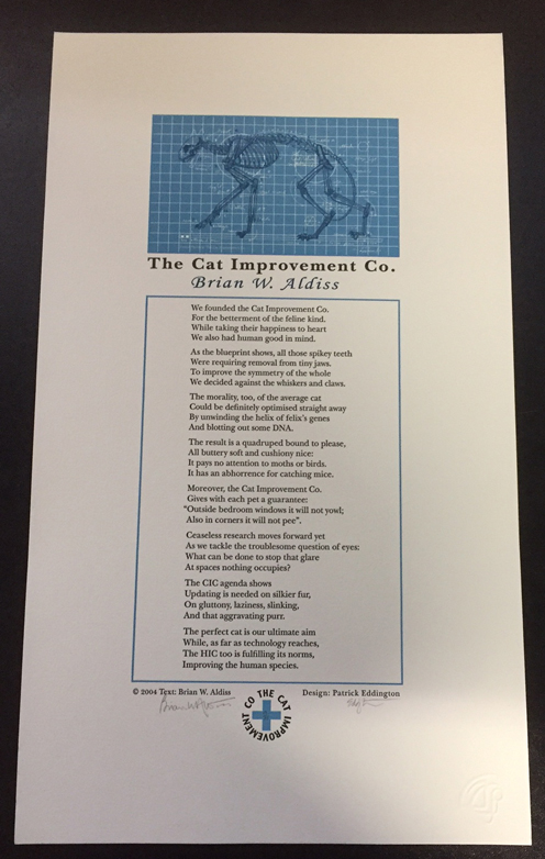 Cat Improvement Company. Brian W. Aldiss.