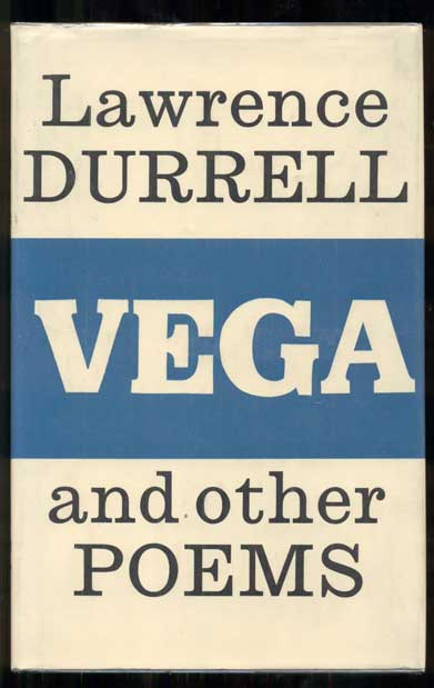 Vega and Other Poems. Lawrence Durrell.