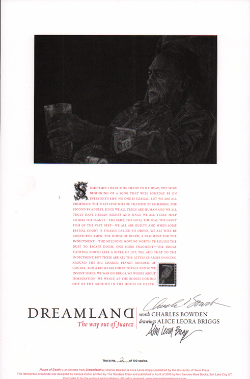 Dreamland: House of Death. Charles Bowden.