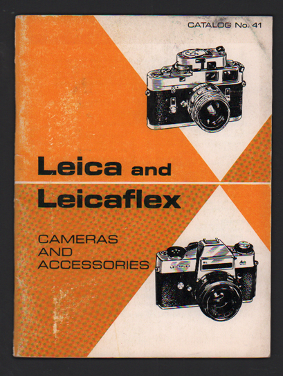 Leica and Leicaflex- Cameras and Accessories