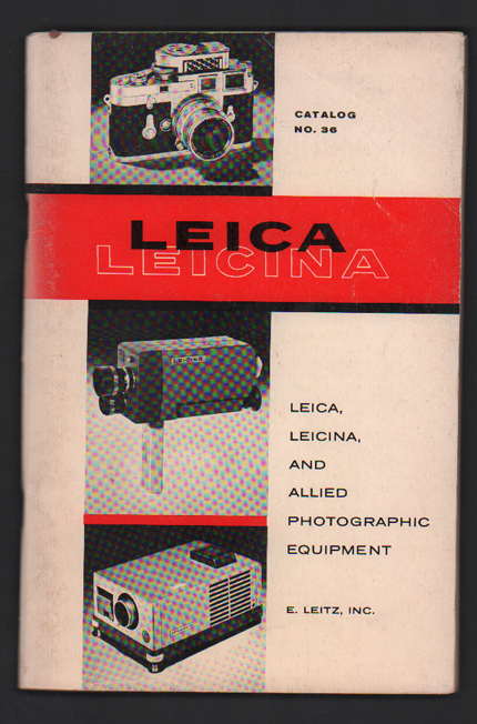 Leica, Leicina, and Allied Photographic Equipment