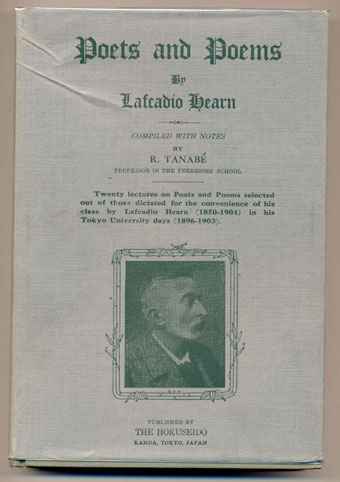 Poets and Poems. Lafcadio Hearn, R. Tanabe.