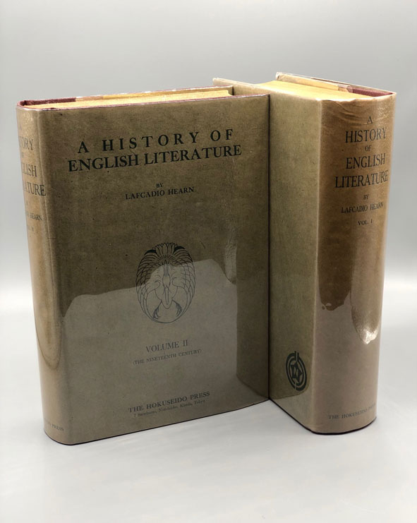 A History of English Literature in a Series of Lectures (2 volumes). Lafcadio Hearn.