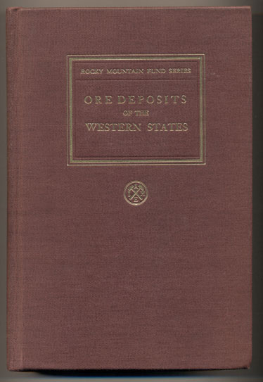 Ore Deposits of the Western States. John Wellington Finch, Chairman of The Committee on the Lindgren Volume.