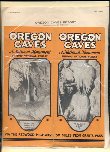 Oregon Caves: A National Monument, Siskiyou National Forest
