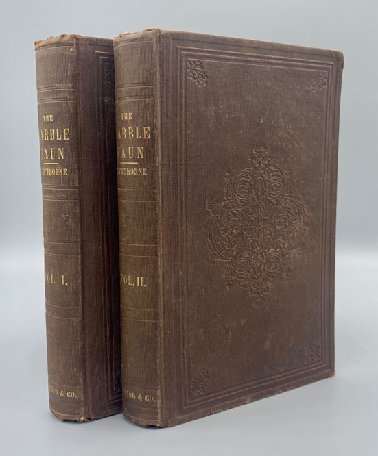 The Marble Faun: or, the Romance of Monte Beni (2 volumes). Nathaniel Hawthorne.