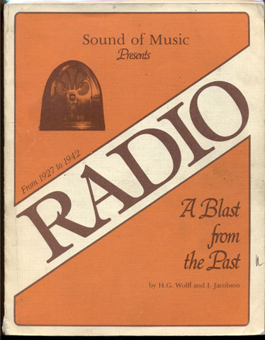 A Blast from the Past (Radio). H. G. Wolff, I Jacobson.