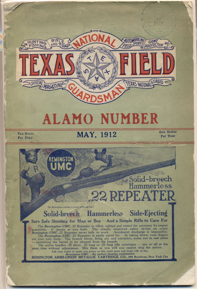 Texas Field and National Guardsman Volume XIV, Number 5 (Alamo Number)