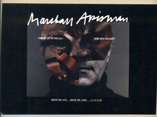 Marshall Arisman: Coming Out of the Light / Going into the Light. Marshall Arisman, Postcard.