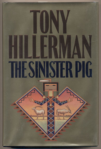 The Sinister Pig. Tony Hillerman.