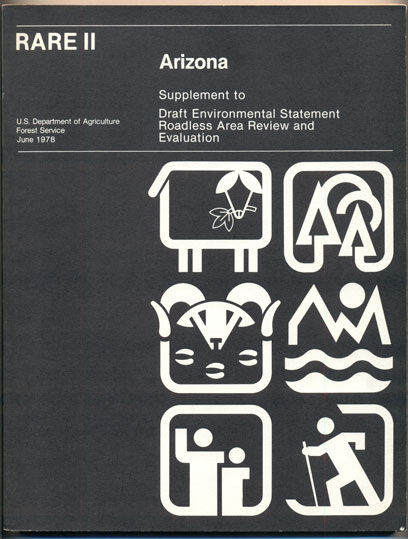 Arizona State Supplement to USDA Forest Service Environmental Statement (RARE II- Arizona: Supplement to Draft Environmental Statement Roadless Area Review and Evaluation). Ralph B. Solether, John R. McGuire.