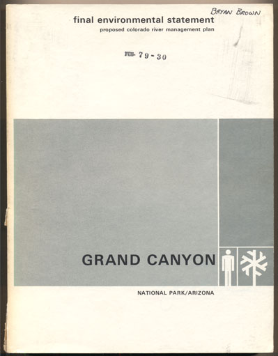 Final Environmental Statement Proposed Colorado River Management Plan Grand Canyon National Park Arizona