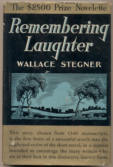 Remembering Laughter. Wallace Stegner.