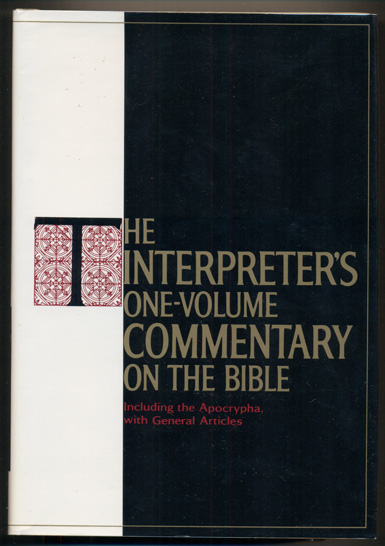 The Interpreter's One-Volume Commentary on the Bible. Charles M. Laymon.
