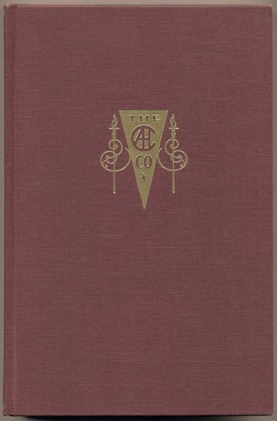 The Arthur H. Clark Company: A Bibliography and History, 1902-1992. Robert A. Clark, Patrick J. Brunet.