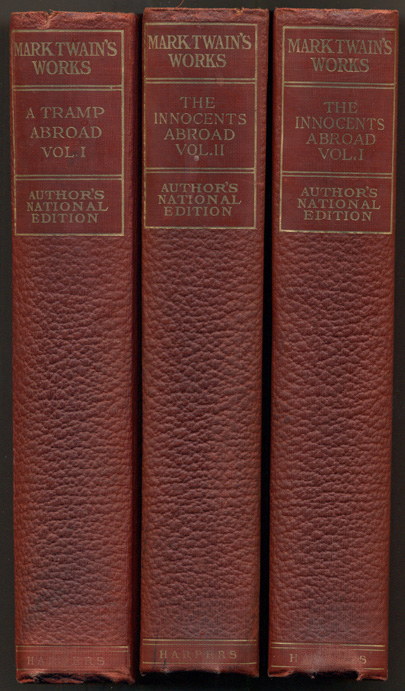 The Writings of Mark Twain (Works of Mark Twain) - 24 of 25 volumes. Mark Twain, Samuel L. Clemens.