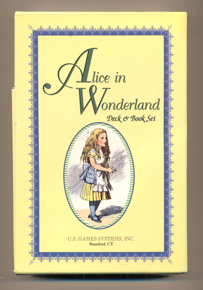 Alice in Wonderland Deck and Book Set: Alice in Wonderland Puzzle and Gamebook; Alice in Wonderland House of Cards Inspired by Sir John Tenniel's illustrations based upon the celebrated works of Lewis Carroll (with the slipcase). Edward Wakeling.