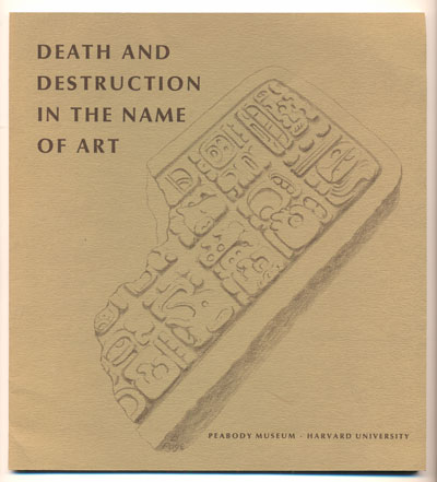 Death and Destruction in the Name of the Art. Stephen Williams.