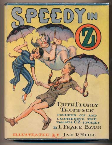 Speedy in Oz. Ruth Plumly Thompson.