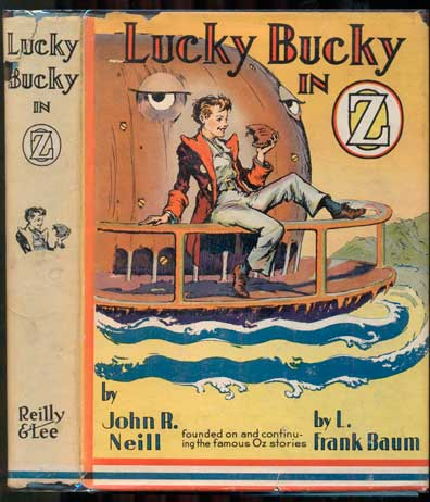 Lucky Bucky in Oz. John R. Neill.