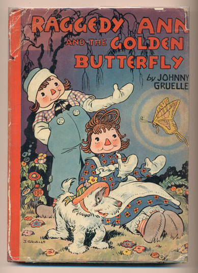 Raggedy Ann and the Golden Butterfly. Johnny Gruelle.