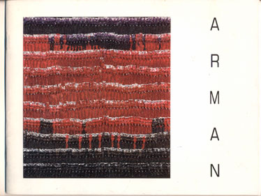 Arman- Color Scales: New Paintings, March 8-April 5, 1990. Armand Fernandez, Arman.