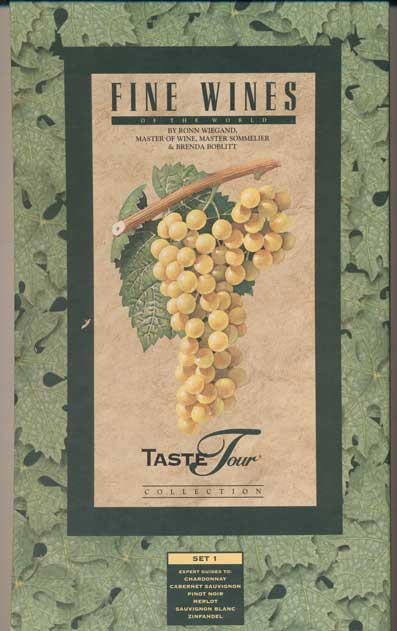 TasteTour Collection: Fine Wines of the World. Set 1 (6 volumes in a slipcase). Ronn Wiegand.