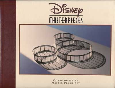Disney Masterpieces Commemorative Master Proof Set Volume 1. Walt Disney, Roy E. Disney.