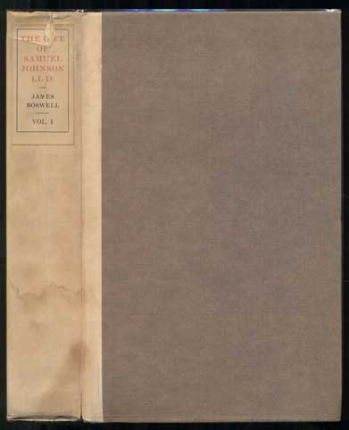 The Life of Samuel Johnson (10 volumes). James Boswell, Clement Shorter.