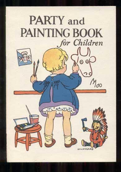 Party and Painting Book for Children. Junket.