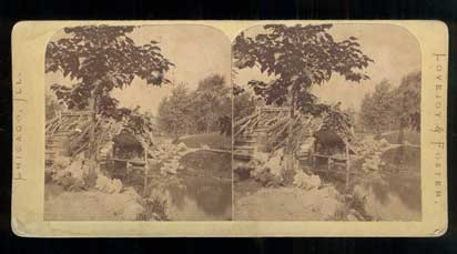 Union Park, Chicago. Stereoview.