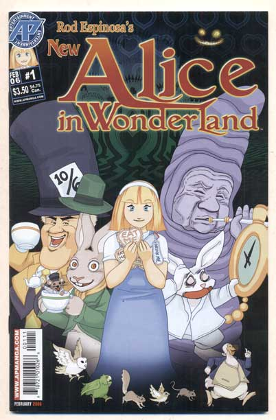 Rod Espinosa's New Alice in Wonderland #1. Lewis Carroll, Rod Espinosa.