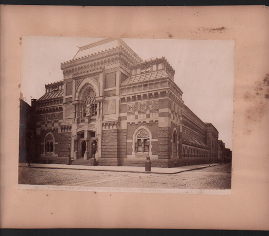 Pennsylvania Academy of the Fine Arts, Philadelphia (No. 7). Large Photograph.