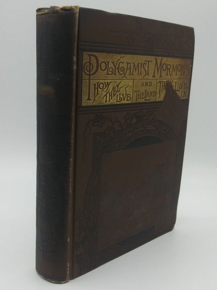 A Detective's Experience Among the Mormons, or Polygamist Mormons: How They Live and the Land They Live In. Fred E. Bennett.