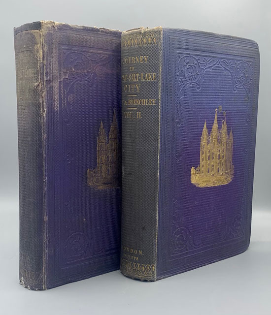 A Journey to Great Salt Lake City. By Jules Remy and Julius Brenchly, M.A.; With a Sketch of the History, Religion, and Customs of the Mormons, and an Introduction on the Religious Movement in the United States. Jules Remy, Julius Brenchly.