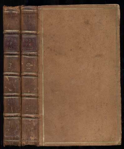 The Fool of Quality; or, The History of Henry Earl of Moreland (five-volume set). Brooke Mr., Henry.