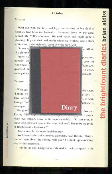 The Brightfount Diaries. Brian Aldiss.