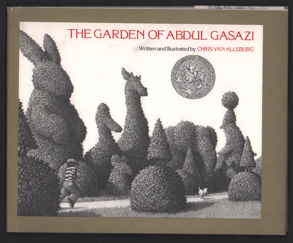 The Garden of Abdul Gasazi (Signed first edition in a later state dust jacket). Chris Van Allsburg.