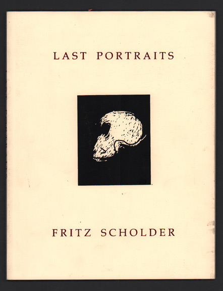 Last Portraits, Exhibitions of Skulls and Related Images: Fritz Scholder, Tweed Museum of Art, University of Minnesota, Duluth. October 23 - January 13, 2002 / Skulls and Scholder: A Meditation by Robert E. Bjork. Fritz Scholder, Robert E. Bjork.