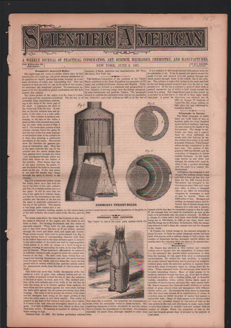 Scientific American: A Weekly Journal of Practical Information, Art, Science, Mechanics, Chemistry, and Manufactures. Vol. XVI, No. 23